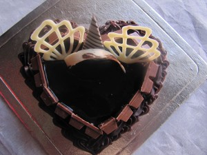 Chocolate Heart Kit Kat