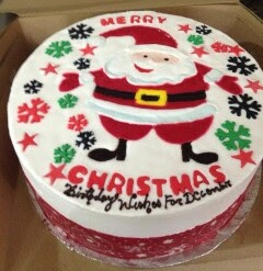 Christmas Office Party Cake at Offices in Bangalore