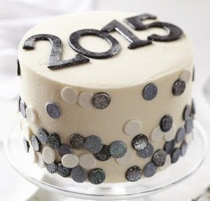 Theme Cake for the 2015 New Year Party