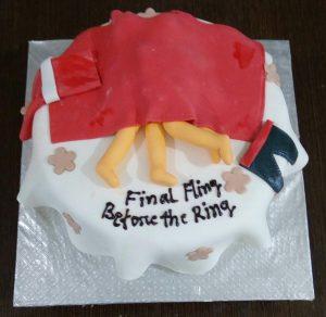 Bridal Shower Cake Adult Cake