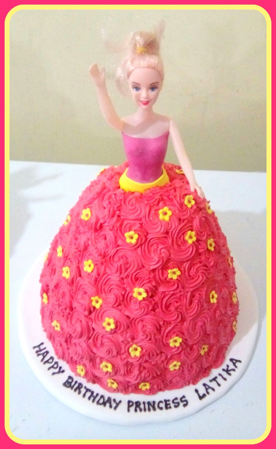 Barbie Cake Barbie Doll Birthday Cake Warmoven