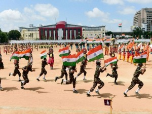 Celebrations at Manekshaw Grounds, Bangalore