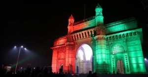 Celebrations at Gateway of India, Mumbai