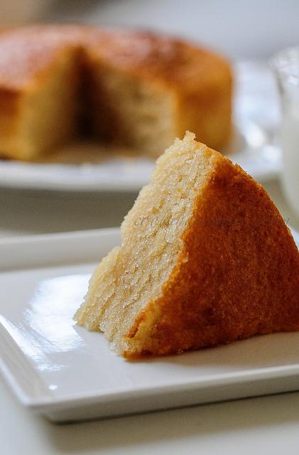 Valentine Day Vanilla Cake Recipe