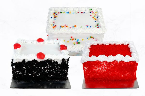 Mini Cake (250 Grams) – Pack of 3 Choose Any Flavour