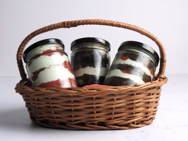 Jar Basket Set of 3 - Customizable