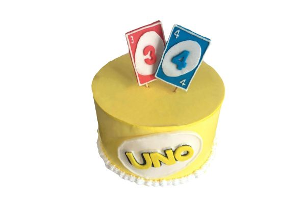 UNO Cake - Customizable