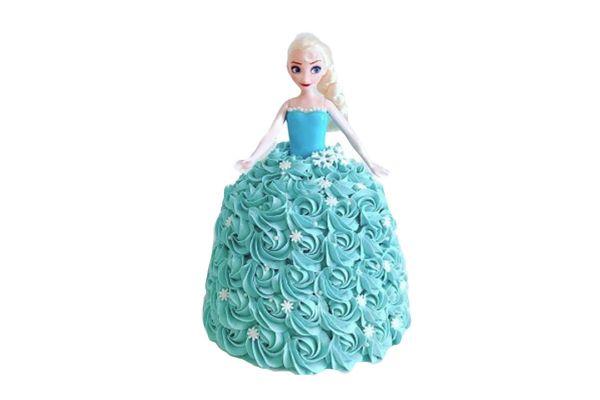 Barbie Island Princess Cake