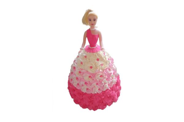 Barbie Swan Princess Cake