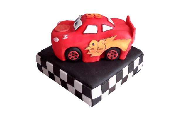 Lightening McQueen Car cake