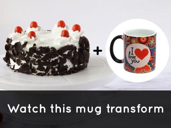 BlackForest Cake & MagicMug Combo