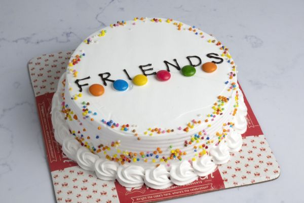 Friends Forever Special Cake