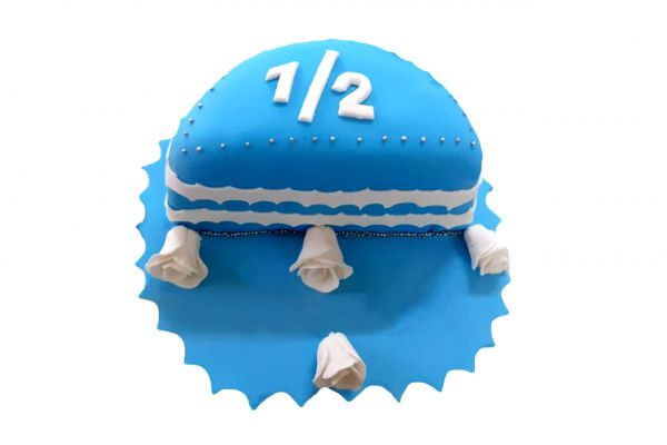 Half Birthday Cake - Customizable