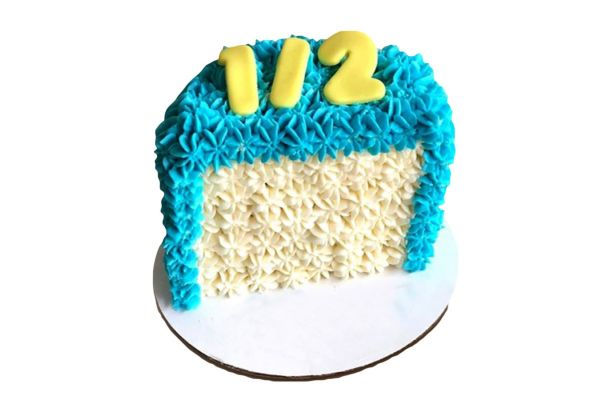 Half Birthday Cake - Choose Any Color