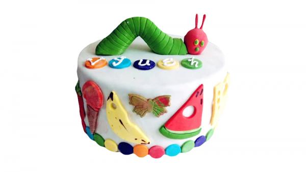 The Hungry Caterpillar Cake