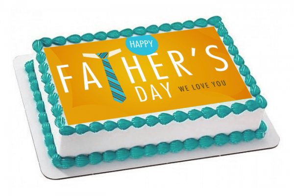 Father's Day Photo Cake #1
