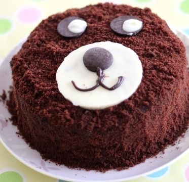 Teddy Day Valentine Cake