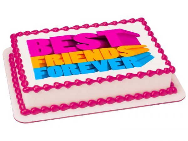 Friendship Day Photo Cake #2