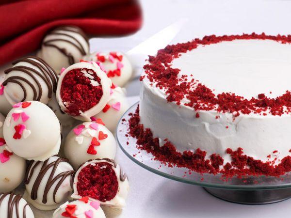 Red velvet Friendship Day Cake Combo