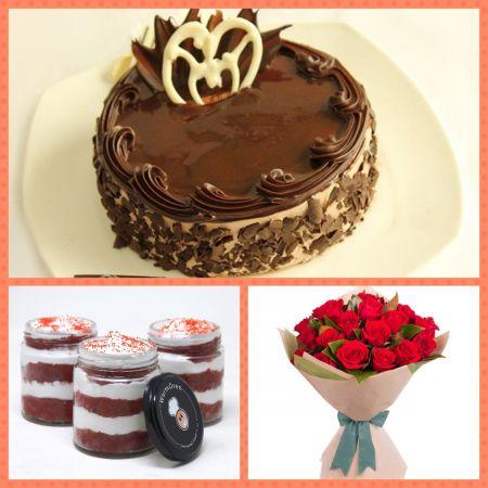 Pure love chocolate combo