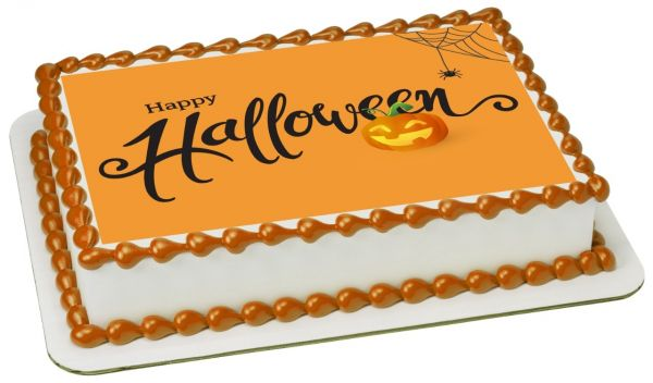 Halloween cake 1