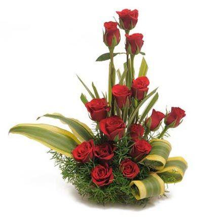15 Red Roses Arrangements