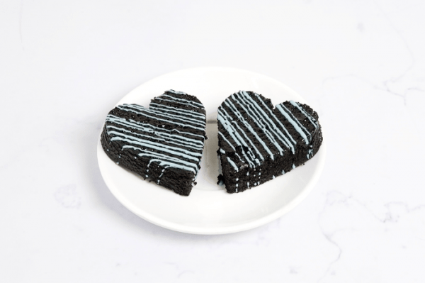 Father's Day Special - Heart Brownie (Pack of 2)