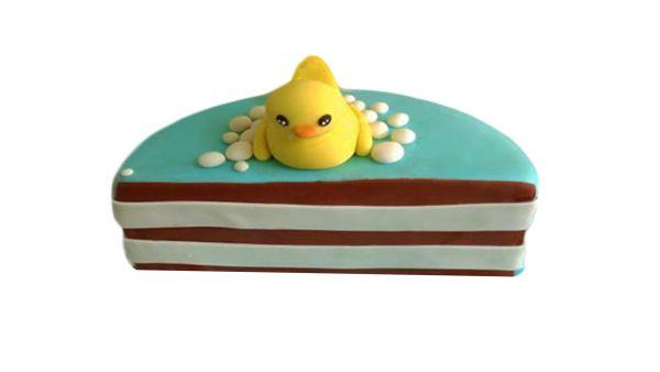 Yellow Chick Half Cake