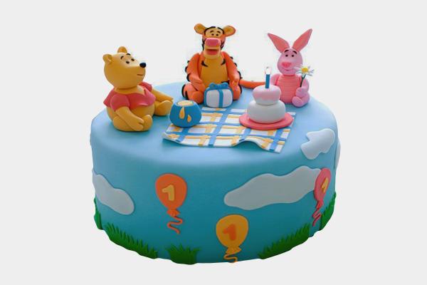 Winnie 'The Pooh Cake'