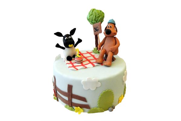 Shaun 'The Sheep Cake'
