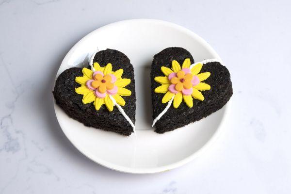 Raksha Bandhan Special Heart Brownie
