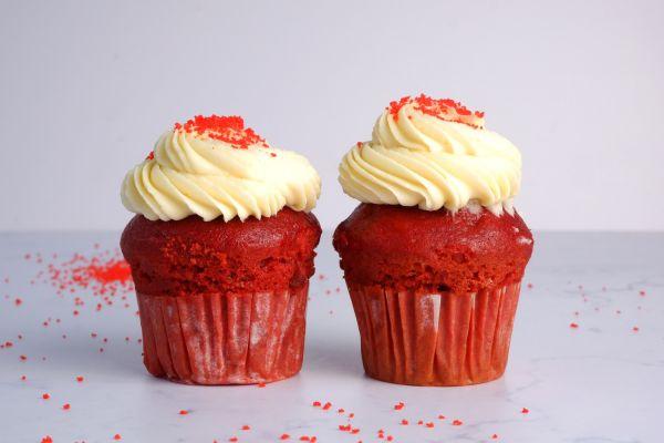 Red Velvet Butter Cupcake | Pack of 6
