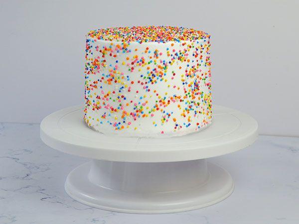 Funfetti Pinata Gems Cake