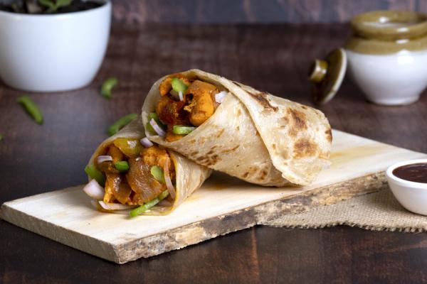 Szechuan Chicken Roll