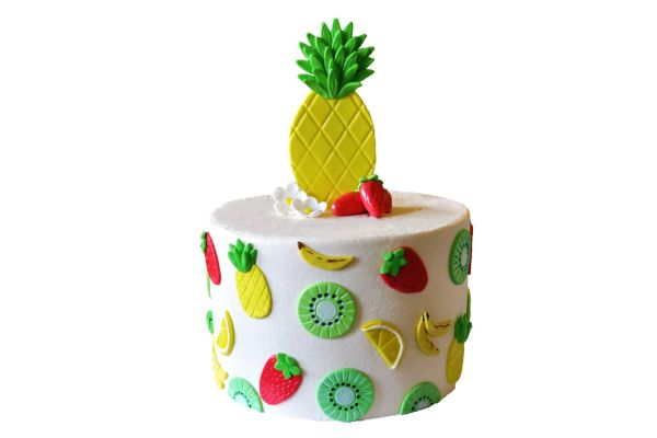 Pineapple & Fruits Cake