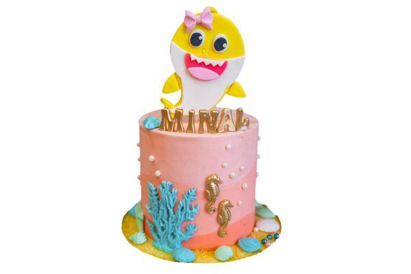 Fish Smiley Cake