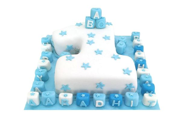 Happy Birthday Toddler Cake - Customizable