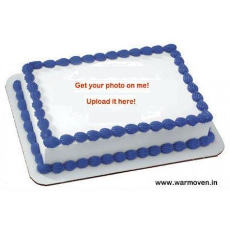 Photo Cake - Half Kg - Choose Any Shape