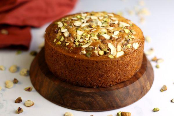 Special Parsi Mawa Cake