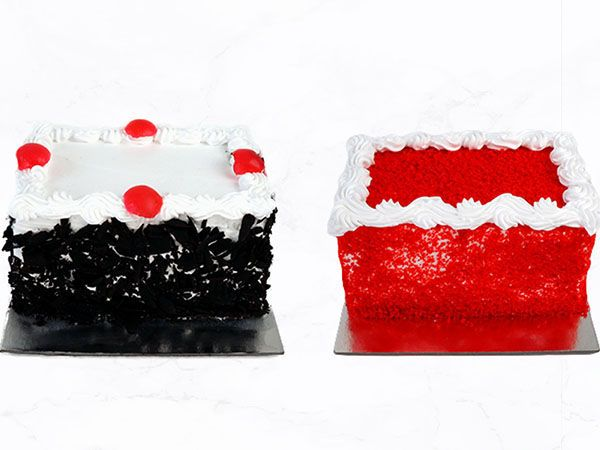 Mini Cake (250 Grams) – Customizable Pack of 2
