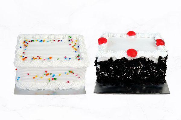 250 Grams Vanilla & Black Forest