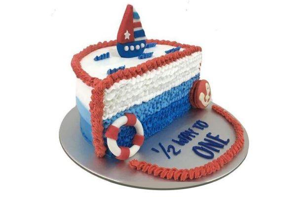 Half Cake | Ship Cake