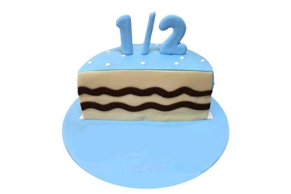 Half Cake for Baby Boy