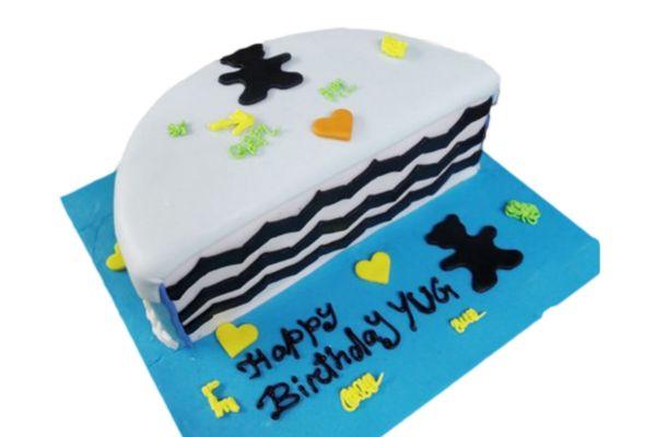 Half Birthday Theme Cake