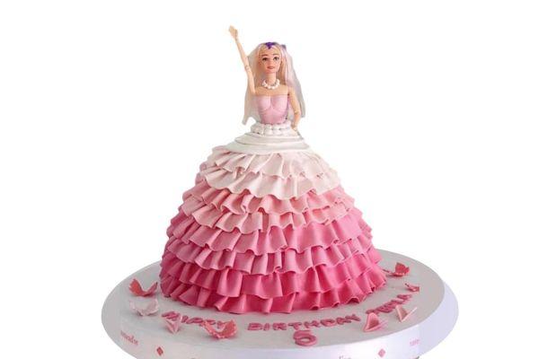 Barbie Nutcracker Princess Cake