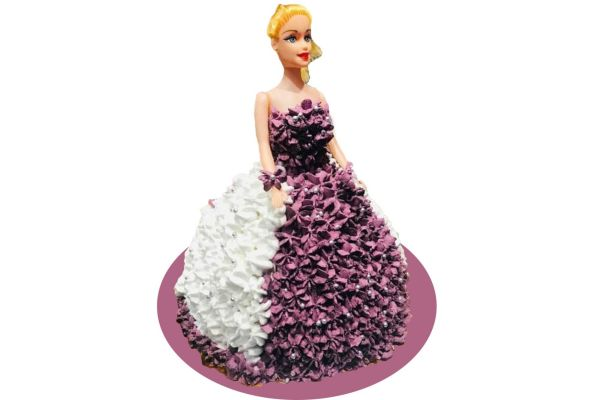 Barbie Pearl Princess Cake