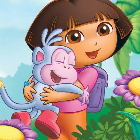 Dora Photo Cake #2