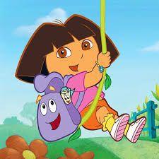 Dora Photo cake #4