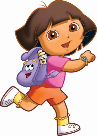 Dora Photo Cake #5
