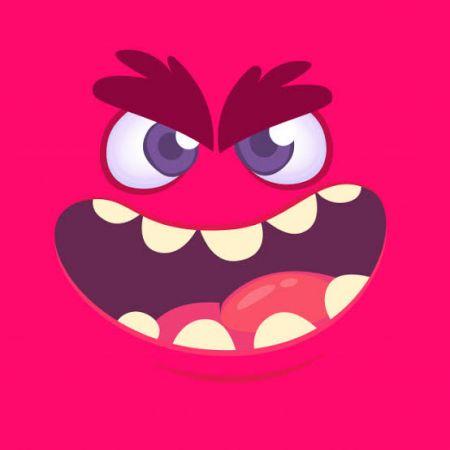 Monster Face Photo Cake #2